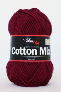 příze Cotton Mix- ( Vlna Hep)  8024 - bordo
