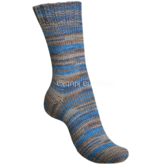 Regia Broken Stripes - broken blue color 6-fach (01151)