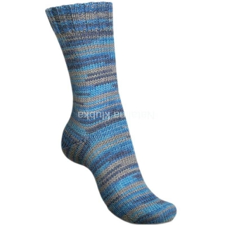 Regia Broken Stripes - broken greyblue color 6-fach (01150)