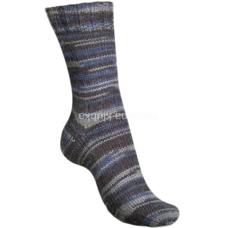 Regia Broken Stripes - broken indigo color 6-fach (01153)