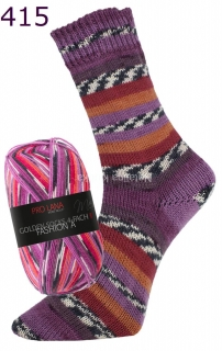 ProLana Golden Socks Fashion A - 415 fialovo