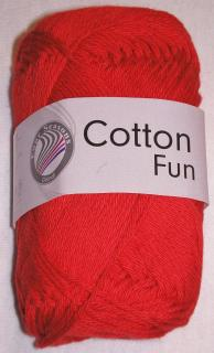 Cotton fun červená č.06