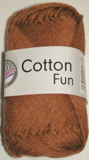 Cotton fun hnědá č.14