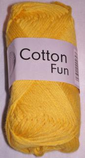Cotton fun sytá žlutá č.04